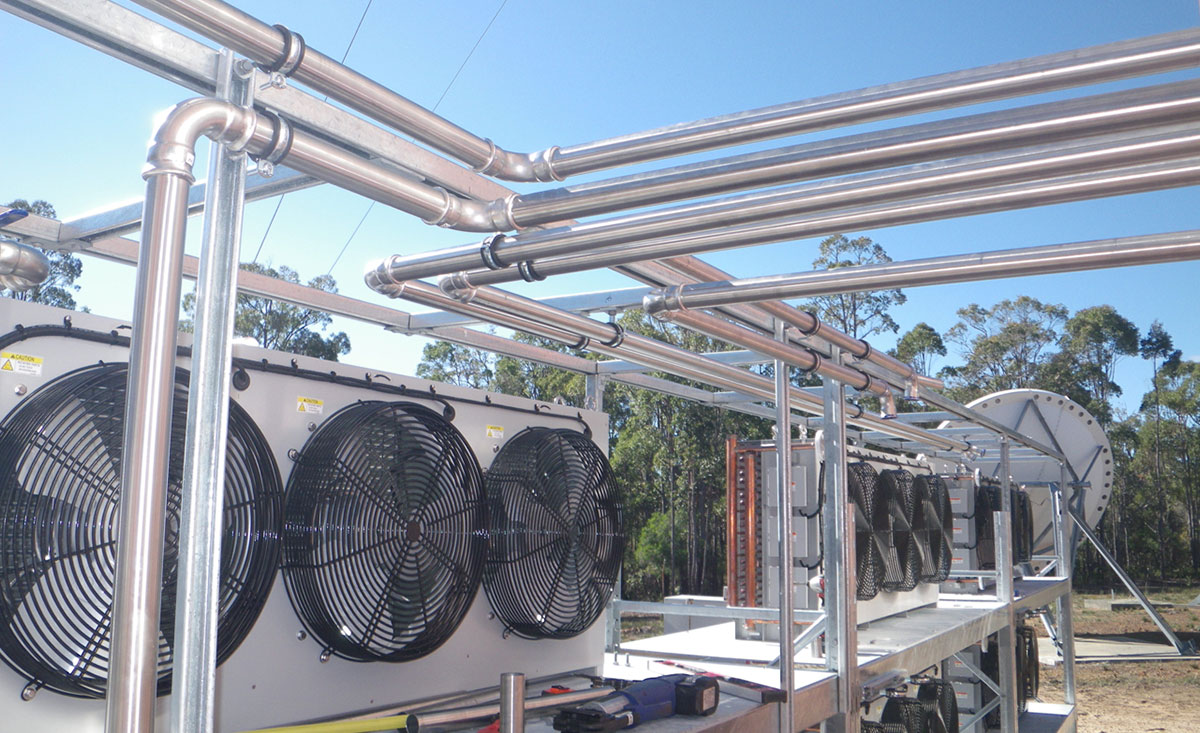 Broad Cast Australia – Digital Television Cooling System Installation