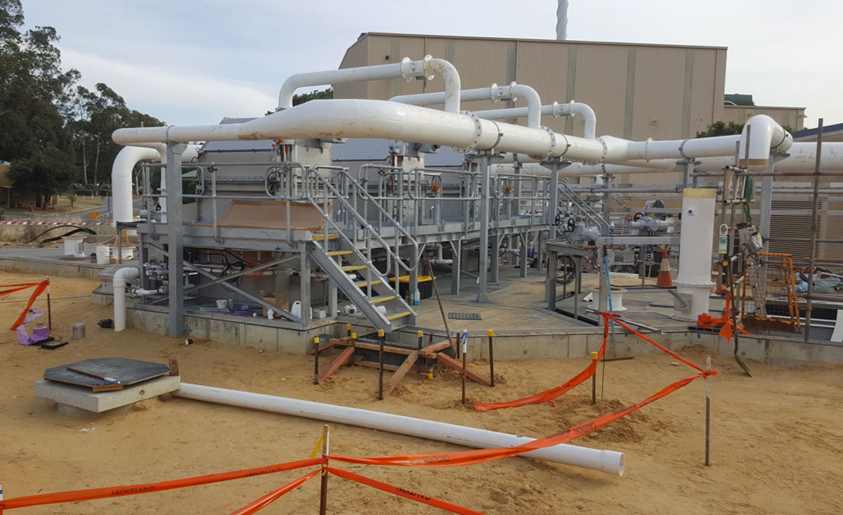 Subiaco Waste Water Treatment Plant Upgrade